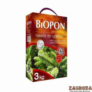 Nawóz jesienny do iglaków BIOPON 3kg