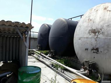 Zbiornik bimetaliczny