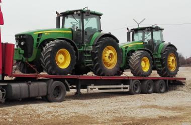Ciągnik rolniczy JOHN DEERE 8530 TLS - 2008 ROK