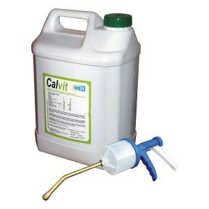 CALVIT 5L x 4 preparat witaminowo-magnezowy z selenem dla krów, dodatek paszowy