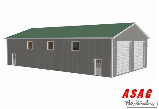 Hala stalowa 10x15x5 garaż magazyn obora + projekt