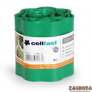 Obrzeże jasno zielone 15cmx9m