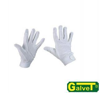 Rękawiczki bawełniane COTTON JERSEY S-XL białe