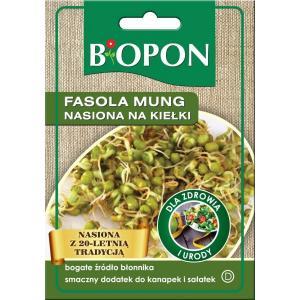 Fasola Mung nasiona na KIEŁKI dla zdrowia BIOPON 40g