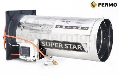 Nagrzewnica gazowa 90kW Mega Star do ogrzewania budynków inwentarskich