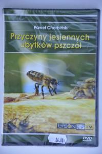 """""""Przyczyny jesiennych ubytków pszczół"""" Paweł Chorbiński DVD"""
