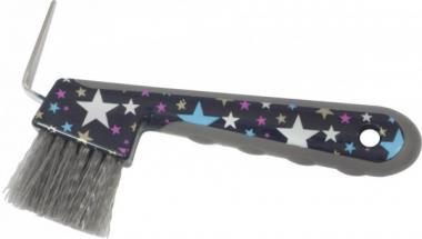 Kopystka ze szczoteczką STARS - różne kolory