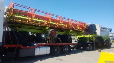 Transport ponadgabarytowych konstrukcji metalowych