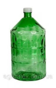 Szklana butelka do wina