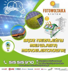 Instalacje fotowoltaiczne  - PKiTJ Fotowoltaika System