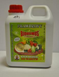 Biohumus do warzyw 2l