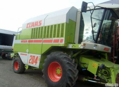 Kombajn CLAAS Mega 204