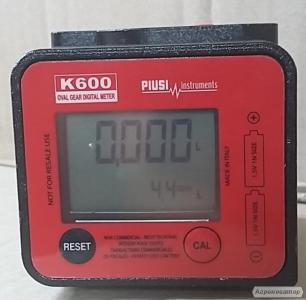 Przepływomierz K600, licznik oleju ON
