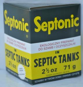 Ekologiczny preparat do szamb i oczyszczalni 71g SEPTONIC