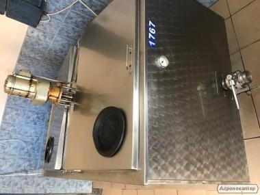 zbiornik do mleka - 650 litrów, gotowy do pracy, nowa elektryka