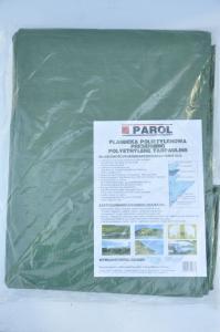 Plandeka polietylenowa zielona 180g 3x5m Parol