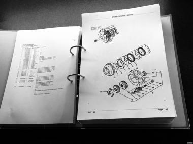 Katalog Części FENDT MF CLAAS RENAULT