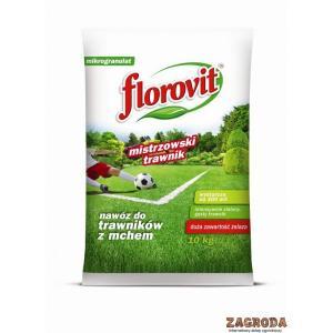 Nawóz do trawnika z mchem FLOROVIT 10kg