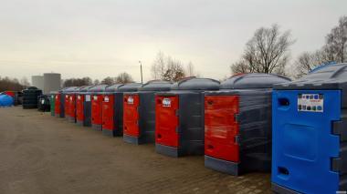Zbiornik na olej napędowy 2500 litrów ON raty!!!! - Amax Oświęcim
