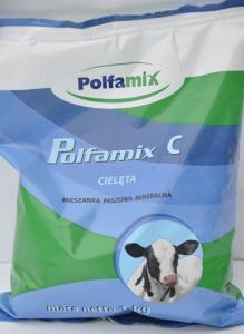 Polfamix C-Cielęta 1kg – mieszanka paszowa uzupełniająca