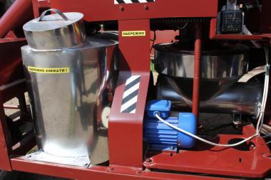 Zaprawiarki do nasion ślimakowy