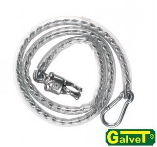 Łańcuch w osłonie PCV 50cm